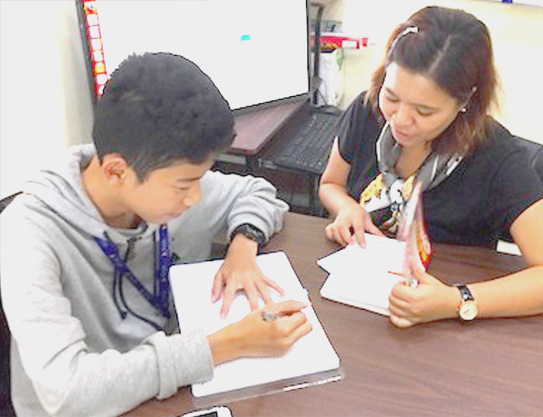 中学生用カリキュラム junior high school